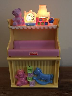 Dolls House Furniture - Baby Change Table Set