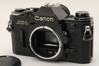 【Excellent+++】 Canon AE-1 35mm SLR Film Camera Body From Japan