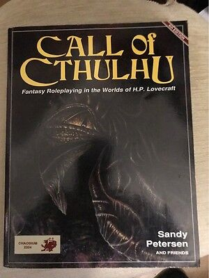 Call of Chtulu + Keeper's Companion 1&2 + Goatswood + The statue of the sorcerer