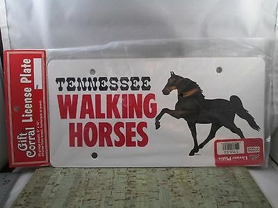 """Tennessee Walking Horse License Plate 6"""" x 12"""""""