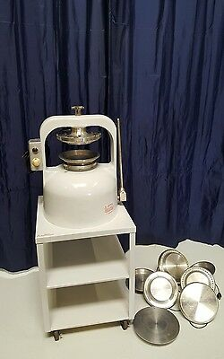 PIE CRUST TART PRESS Bakery Dough Press comparable with Comtec or Kaiser Press