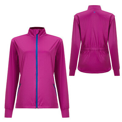 Callaway Women/Ladies Golf Wind Jacket-Full Zip Long Sleeve to Vest- Small - New