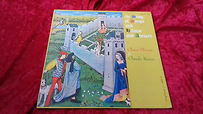 Claire Bloon & Claude Rains the song of songs helouise and abelard USA LP vinyl