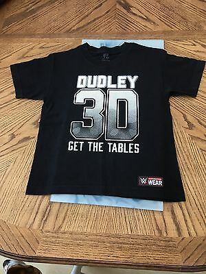 Dudley Boyz Rare 'get The Tables' T-Shirt Authentic Wwe Wear