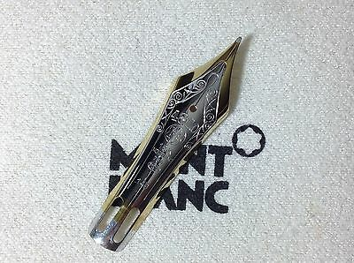 "MONTBLANC Meisterstuck 149 Fountain PEN PART NIB With Solid GOLD 18Kt ""M"" NEW"