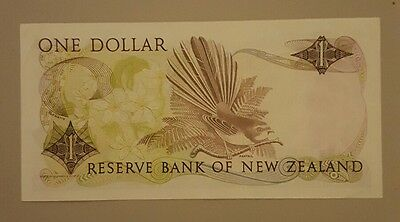 Banknote $1 Bank of New Zealand
