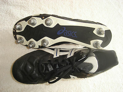 Asics Rugby Heavy Ground Football Boots  US9  Cm27.5  Eu42.5  Soccer,  Rugby