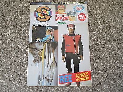 *Rare* SIG No 1 Official SuperMarioNation Magazine - 1994 UK Captain Scarlet