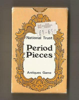 """Period Pieces"" - The National Trust -Vintage Card Game - Retro Antiques Game"