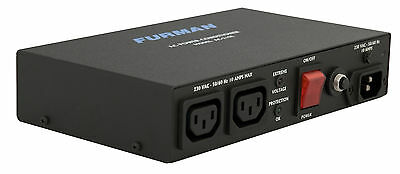 Furman AC-210E Compact Power Conditioner for Audio and Video systems RFI EMI