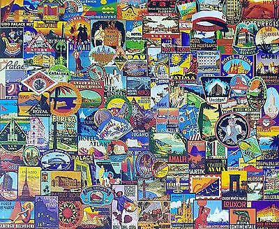 World Traveler - 1500 Piece Holiday Places Jigsaw Puzzle By SunsOut - New
