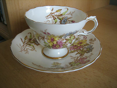 Vintage Rosina China Cup And Saucer