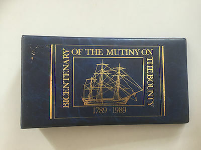 Bicentenary of the Mutiny on the Bounty Stamp Binder Complete with Stamps
