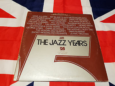 The Jazz 25 Years Atlantic - 2 LP Compilation Press 1974 USA
