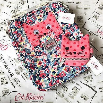 Genuine CATH KIDSTON KIDS Cat Messenger Bag and Cat Purse NEW with Tags