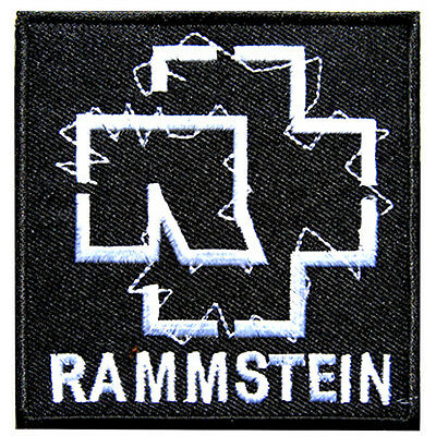 RAMMSTEIN rock bands Iron Embroidery patch
