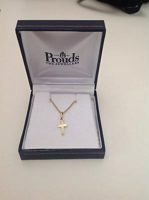 Prouds Baby Cross Necklace