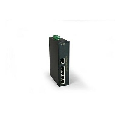 LEVEL ONE Switch LevelOne 5x FE POE 4 Outputs 802.3at PoE+ [IFP-0501]