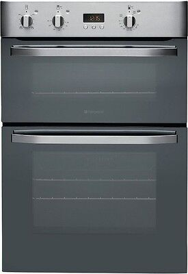 Hotpoint Built In Double Electric Oven - Stainless Steel