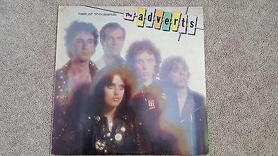 The Adverts Cast of Thousands Original UK 1st Pressing 12'' LP