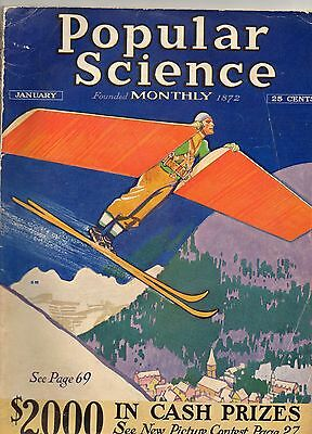Popular Science Magazine.-For January 1931-American Issue