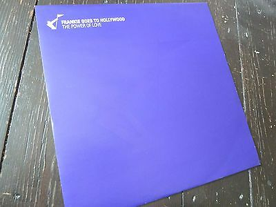 "FRANKIE GOES TO HOLLYWOOD The Power Of Love UK Promo 12"" Vinyl FGTH Record MIXES"