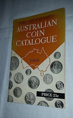 1966 Standard Australian Coin Catalogue details & mintage all predecimal coins