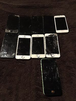 Joblot iPhones Spares Or Repairs