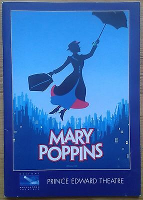 Mary Poppins programme Prince Edward Theatre 1/2007 [10] Lisa O'Hare Gavin Creel