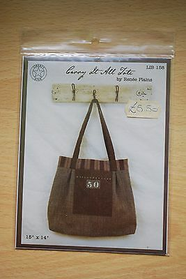 Bag pattern: Carry it all Tote by Liberty Star