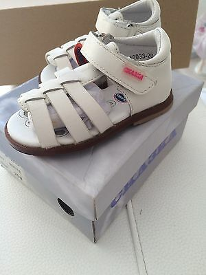 Chaussures Sandales Bebe Fille Cuir Taille 20