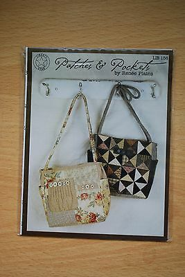 Quilted bag pattern: Patches and Pockets by Liberty Star