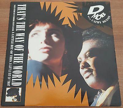 "D MOB with CATHY DENNIS - That's The Way Of The World - 12"" VINYL Single - 1990"