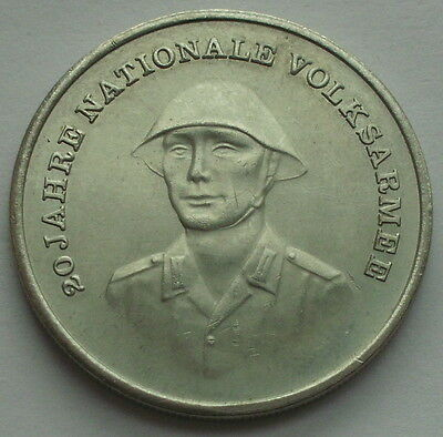 RARE East Germany 1976 A 10 Mark UNC coin National People's Army