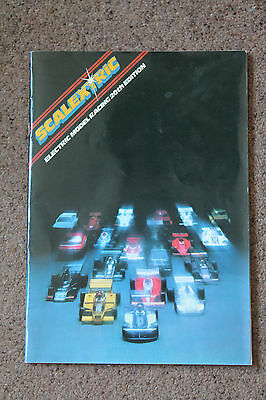 Rare Vintage Scalextric Electric Model Motor Racing 20Th Edition Catalogue