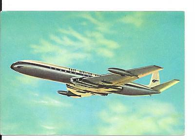 Airline issue postcard-EAA East African Airways Comet aircraft