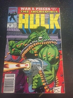 Incredible Hulk#390 Incredible Condition 8.5(1997)Keown Art, Wow!!