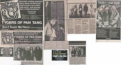 TYGERS OF PAN TANG : CUTTINGS COLLECTION -adverts-