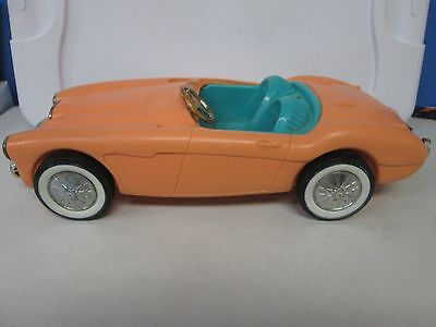 Irwin Mattel Barbie 1960's Corvette Peach
