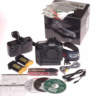 Canon EOS 1DX 1D X 20MP Digital SLR body - only 115K + Extra Battery