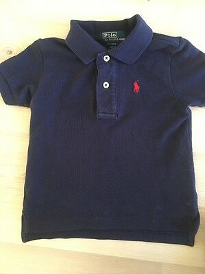 Ralph Lauren Boys Polo Shirt 12 Months