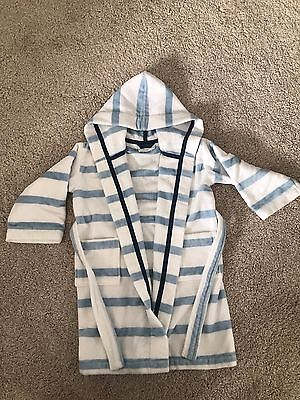 Boys Little White Company Dressing-gown Age 3-4yrs