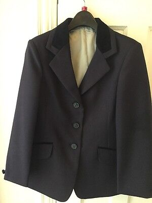 """Shires Childs Navy Show Jacket 28"""""""
