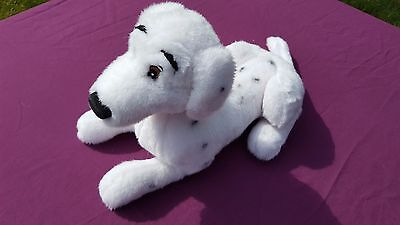 "Disney 101 Dalmatians Perdy Dog 18"" Large Plush Soft Stuffed Toy Free Uk P&p"