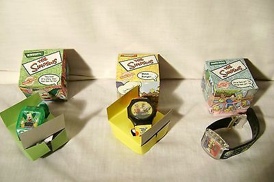 Burger King Promotional Simpsons Watches