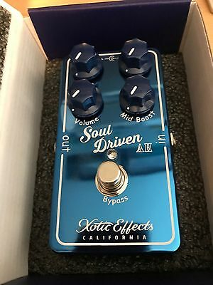 Xotic Soul Driven 'Allen Hinds' Limited Edition Overdive/boost Pedal