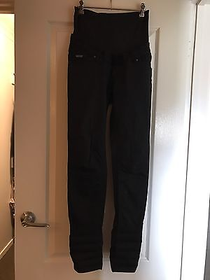 Noppies Maternity Black Skinny Pants Size 8
