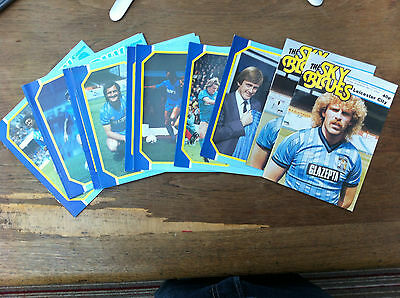 Coventry City HOME programmes 1984/85 choose from list FREE UK P&P