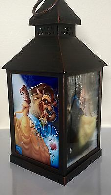 Disney Beauty And The Beast LED Candle Lantern, new 2017 And Original Disney