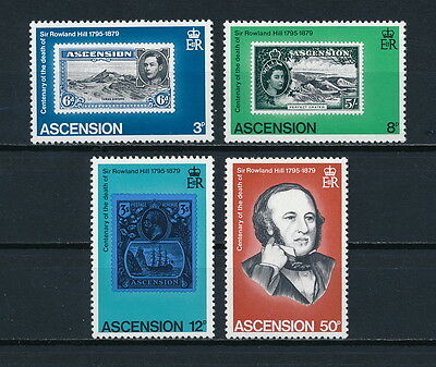 Ascension  247-50 MNH, Rowland Hill, 1979